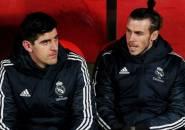 Courtois Tantang Bale untuk Diwawancarai dengan Bahasa Spanyol