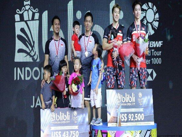 Kaleidoskop 2019: All Indonesian Finals Pertama Bagi Kevin/Marcus & Ahsan/Hendra di Indonesia Masters 2019