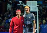 Lakoni Laga Eksibisi di Hangzhou, Roger Federer Kalahkan Alexander Zverev