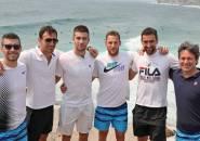 Sebelum Guncang ATP Cup, Tim Kroasia Nikmati Keindahan Pantai Di Sydney