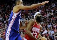 James Harden Membara, Rockets Pulangkan 76ers Dengan Tangan Hampa
