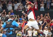 Novak Djokovic Bertahan Dari Serangan Kevin Anderson Di ATP Cup