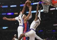 Sengit, Lakers Berusaha Keras Untuk Tumbangkan Pistons
