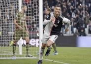 Hat-Trick Ronaldo Bikin Juventus Bantai Cagliari