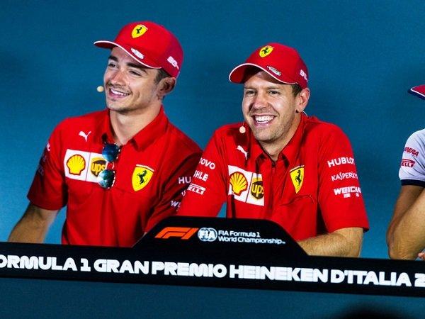 Kalah Saing dari Leclerc, Ferrari Tetap Prioritaskan Vettel