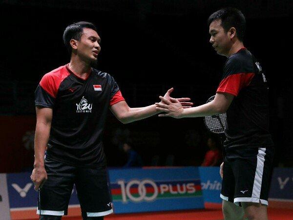 Malaysia Masters 2020: Taklukkan Ganda China, Hendra/Ahsan Melaju