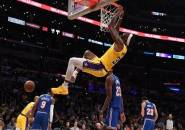 Los Angeles Lakers Menang Telak Atas New York Knicks