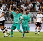 Trio Gelandang Tentukan Kemenangan Real Madrid Atas Valencia