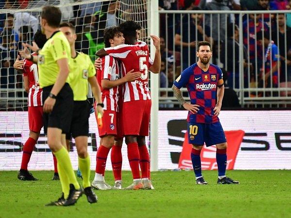 Atletico Lolos ke Final Piala Super Spanyol Setelah Singkirkan Barcelona