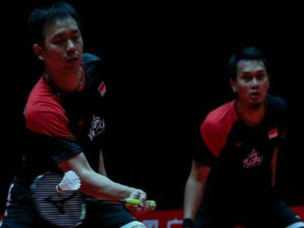 Malaysia Masters 2020: Tak Terkalahkan, Ahsan/Hendra Tembus Semifinal