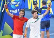 Rafael Nadal Dan Pablo Carreno Busta Kririm Spanyol Ke Semifinal ATP Cup