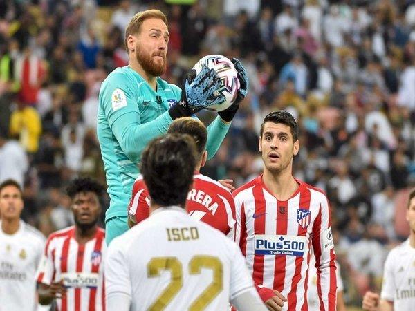 Atletico Keok di Final Piala Super Spanyol, Oblak Enggan Banyak Beralasan