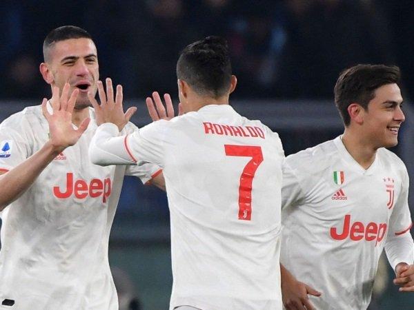 Juventus Dinobatkan Sebagai Juara Paruh Musim Serie A Usai Taklukan AS Roma