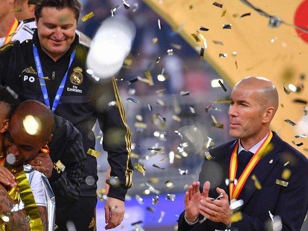Menangkan Piala Super Spanyol, Zidane Klaim Real Madrid Belum Puas