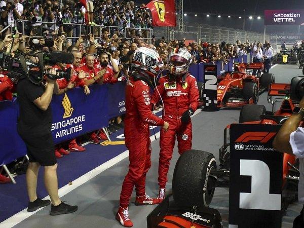 Meski Rival, Leclerc Akui Banyak Ambil Pelajaran Berharga Dari Vettel