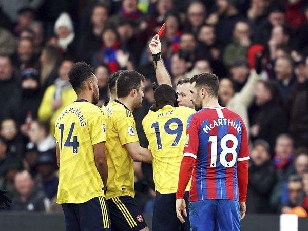 Arsenal Berharap Hukuman Kartu Merah Aubameyang Bisa Diperingan