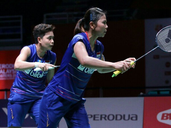 Indonesia Masters 2020: Greysia/Apriyani Pulangkan Ganda Putri China