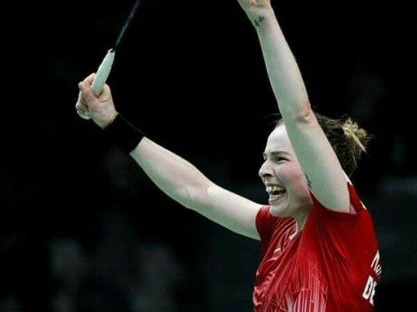 Indonesia Masters 2020: Tumbangkan Nomor 1 Dunia, Pemain Denmark Gembira
