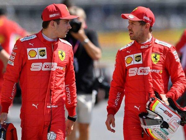 Binotto Tegaskan Leclerc dan Vettel Sudah Akur di Akhir Musim Lalu
