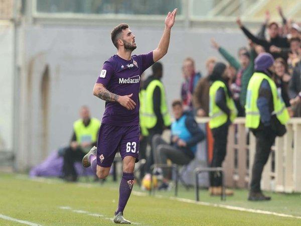 Gembiranya Cutrone Usai Cetak Gol Debut Bersama Fiorentina