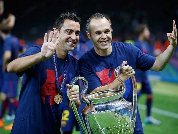 Iniesta Idamkan Kerja Sama dengan Xavi Sebagai Pelatih Barcelona