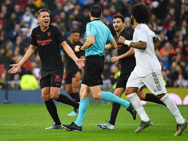 Kalah dari Real Madrid, Sevilla Keluhkan VAR