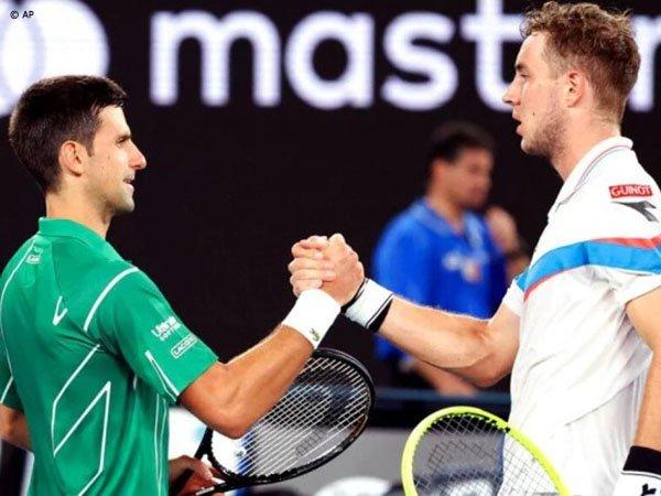 Hasil Australian Open: Novak Djokovic Bertahan Dari Gempuran Jan Lennard Struff