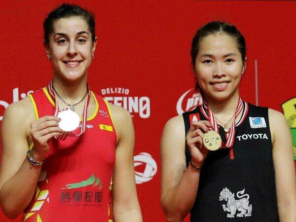 Indonesia Masters 2020: Ratchanock Intanon Terlalu Kuat Untuk Marin