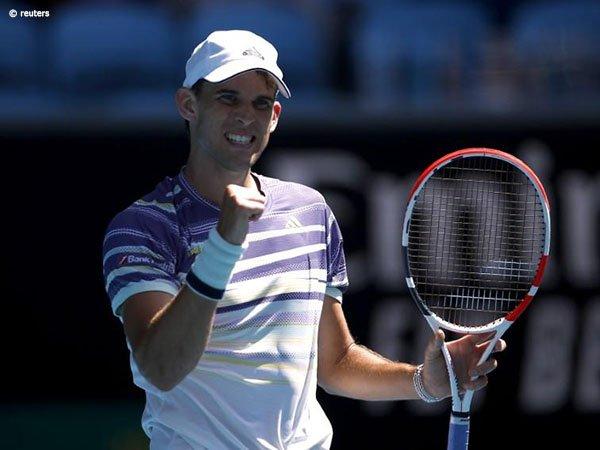 Hasil Australian Open: Dominic Thiem Depak Adrian Mannarino Dari Melbourne