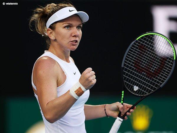 Hasil Australian Open: Simona Halep Terhindar Dari Korban Keganasan Jennifer Brady