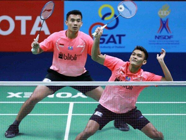 Thailand Masters 2020: Kalahkan Pasangan Taiwan, Bagas/Fikri Lolos Ke Babak Utama