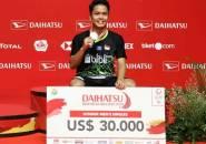 BWF Ranking: Anthony Ginting Melesat ke Peringkat 5 Dunia