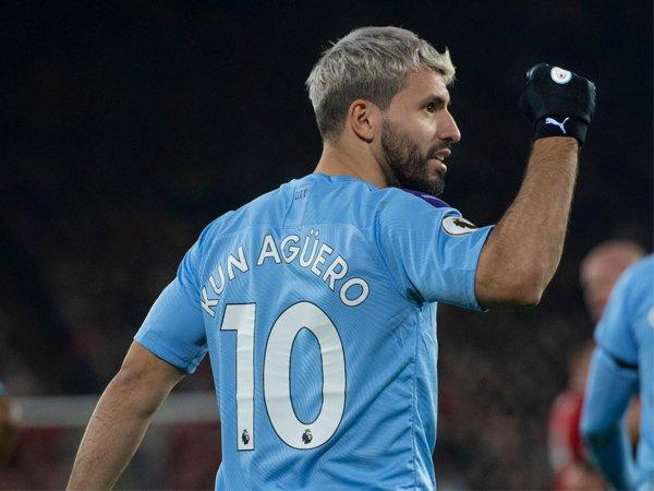 Jadi Pahlawan Kemenangan Man City, Guardiola Puji Aguero
