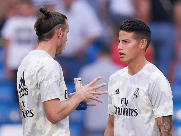 Real Madrid Sertakan Bale dan James dalam Skuat Kontra Salamanca