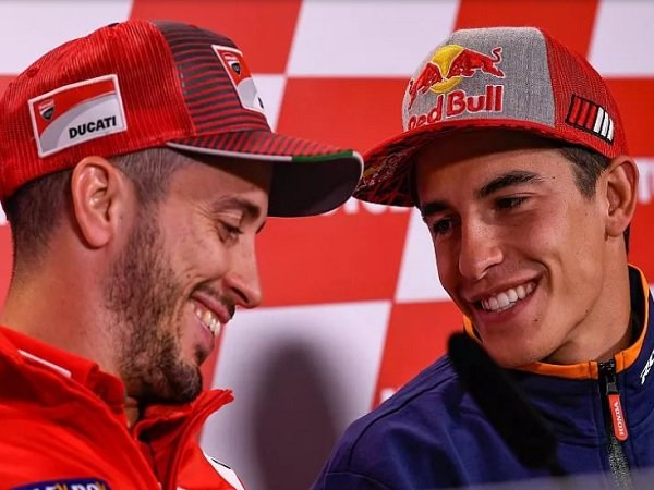 Meski Sangat Sulit, Dovizioso Yakin Marquez Bisa Dikalahkan