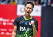 Meski Juarai Indonesia Masters 2020, Keberhasilan Ginting Masih Belum Buat Pelatih Puas