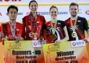 Thailand Masters 2020: Hafiz/Gloria Finish Di Posisi Kedua