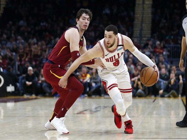 Zach Lavine Bawa Bulls Menang Atas Cavaliers
