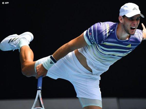 Hasil Australian Open: Tumbangkan Gael Monfils, Dominic Thiem Berhak Satu Tempat Di Perempatfinal