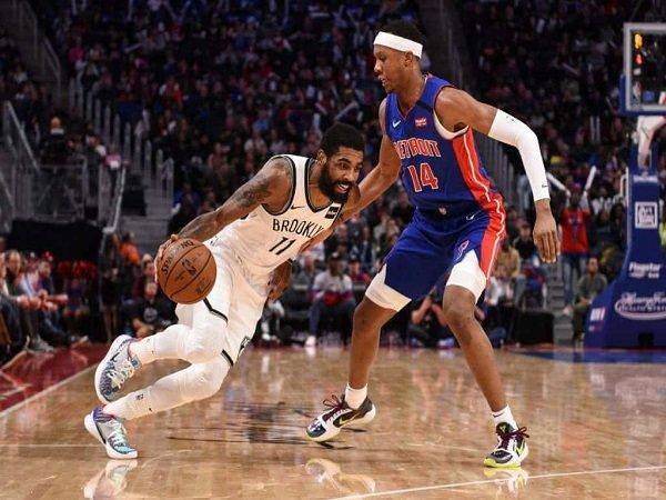 Kyrie Irving Mengamuk, Nets Tumbangkan Pistons