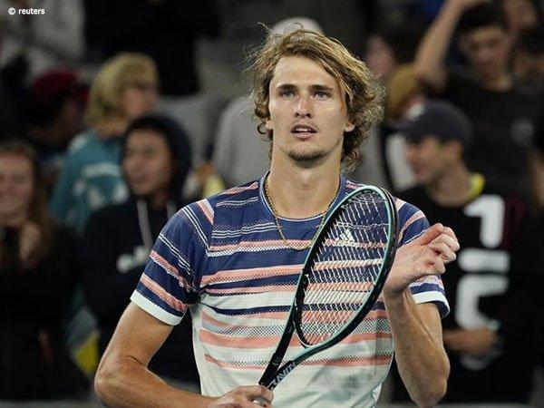 Hasil Australian Open: Patahkan Kemenangan Beruntun Andrey Rublev, Alexander Zverev Melangkah Ke Perempatfinal