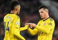 Leno Yakin Aubameyang dan Xhaka Takkan Tinggalkan Arsenal