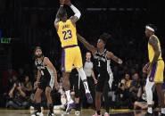 Los Angeles Lakers Menang Telak Atas San Antonio Spurs