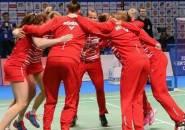 Hasil Undian Tim Putri di Kejuaraan Beregu Eropa 2020