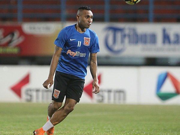 Sambutan Hangat Untuk Titus Bonai di Borneo FC