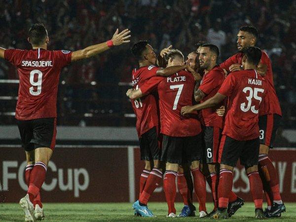 Sempat Tertinggal, Bali United Raih Kemenangan Telak di Laga Perdana AFC Cup