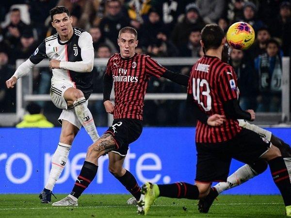 Coppa Italia 2019/2020: Prakiraan Susunan Pemain AC Milan Kontra Juventus
