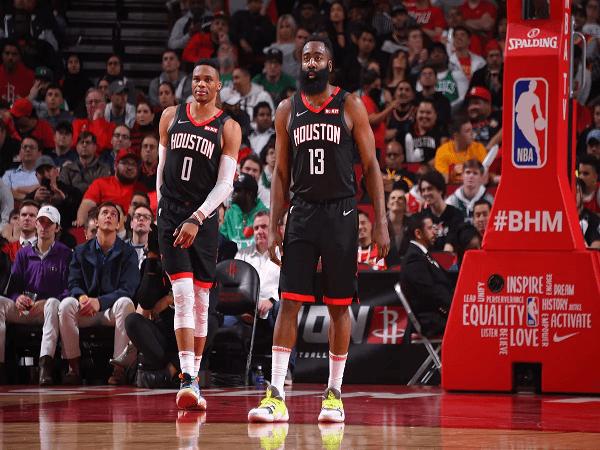 Harden-Westbrook Panas, Rockets Tumbangkan Perlawanan Celtics