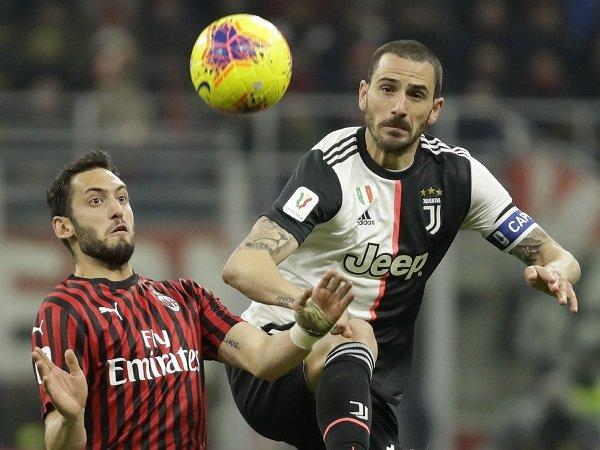 Bonucci Akui Juventus Tidak Tampil Cukup Bagus Kontra Milan