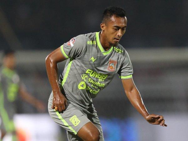 Gelandang Senior Borneo FC Kembali Berlatih Bresama Skuat Utama